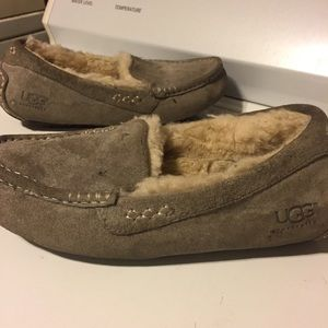 Grey UGG Slippers size 6